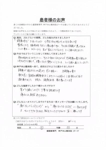 """""""痛くなったらどうしよう""""から""""痛くなっても大丈夫""""に変わります。 神戸市垂水区 50歳女性"""