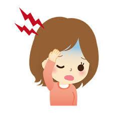 おでこの頭痛の原因と治し方!!